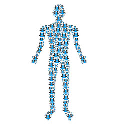 users person figure vector image