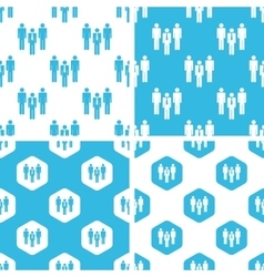 Work group patterns set vector