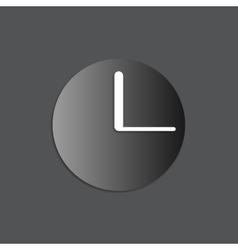 black watch icon vector image vector image