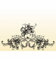 Flourish illustration vector