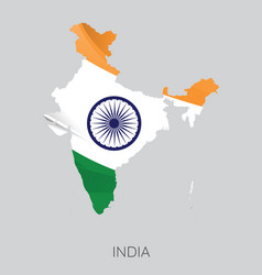 map of india vector image