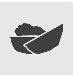 Walnut icon vector image