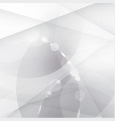 abstract silver background with white and gray vector image