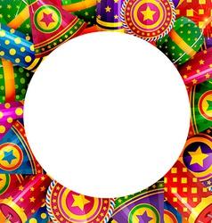 Background of diwali crackers vector