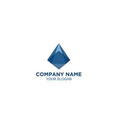 Blue prism logo design vector