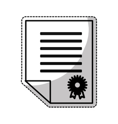 Diploma icon image vector