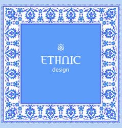 ethnic design vector image