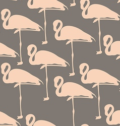 FlamingoStand1 vector image