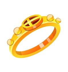 Icon ring vector