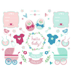 Newborn collection vector
