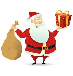 santa delivery vector image