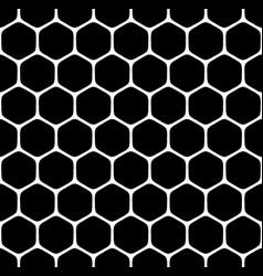 seamless hexagons pattern vector image