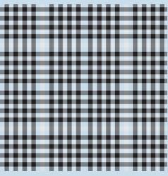 sky blue plaid tartan checkered seamless pattern vector image