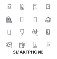 smartphone iphone tablet mobile phone ipad vector image