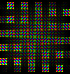 background of the grid squares vector image