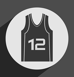 basketball icon vector image