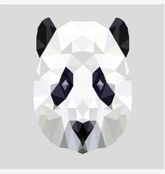 Bear panda vector