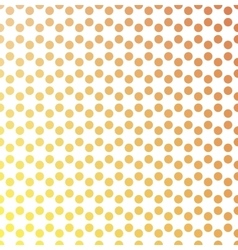 Dotted background in hexagonal arangement vector