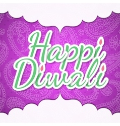 Happy Diwali design vector