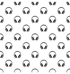 Headphones pattern simple style vector