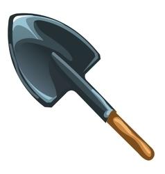 One black shovel vector