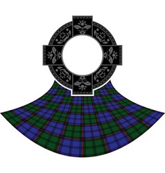 scottish celtic ring vector image