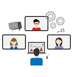 Teleconference vector
