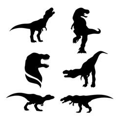 TyrannosaurusSet vector