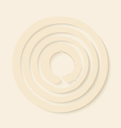Zen circles design vector image