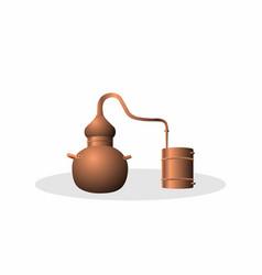 Alembic copper vector