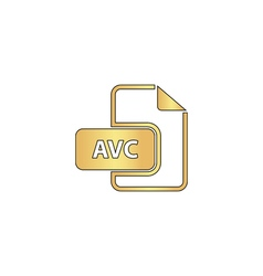AVC computer symbol vector