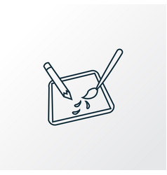 design icon line symbol premium quality isolated vector image