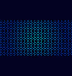 honeycomb background of geometric hexagons vector image