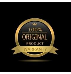 original product label vector image