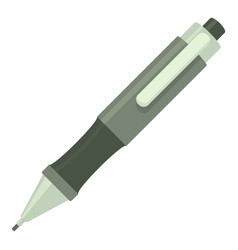 pen icon cartoon style vector image