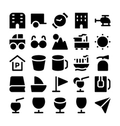 Travel Icons 8 vector