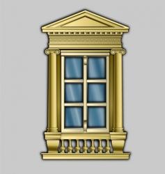 window1 vector image vector image