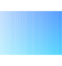 Abstract blue gradient color vertical lines vector