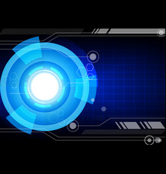 background abstract technology communication vector image vector image