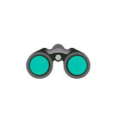 Binocular graphic design template isolated vector