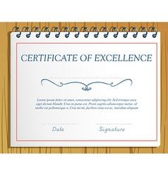 Certification vector