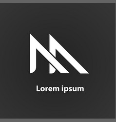 ma logo vector image