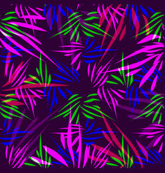 Pattern from purple and blue lines on a lilac vector
