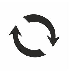 rerresh update icon reload symbol vector image