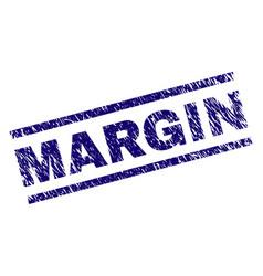 Scratched textured margin stamp seal vector