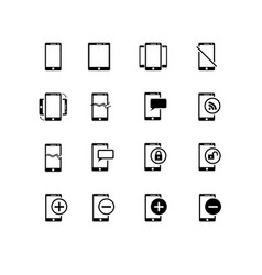 simple set of approve related line icons vector image