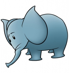 Small elephant vector