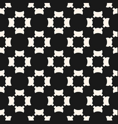 universal seamless pattern simple black white vector image