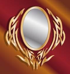 magic mirror vector image