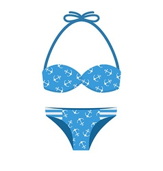 Beach Bikini vector image vector image